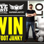 Win a massive 4-Foot JANKY from Superplastic!