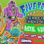 Saturday, October 6th 7pm-11pm Ferocious Choke Hold!