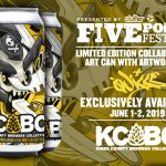 QUICCS exclusive KCBC beer can design!