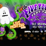 Official Five Points Fall Live Painting Schedule!!